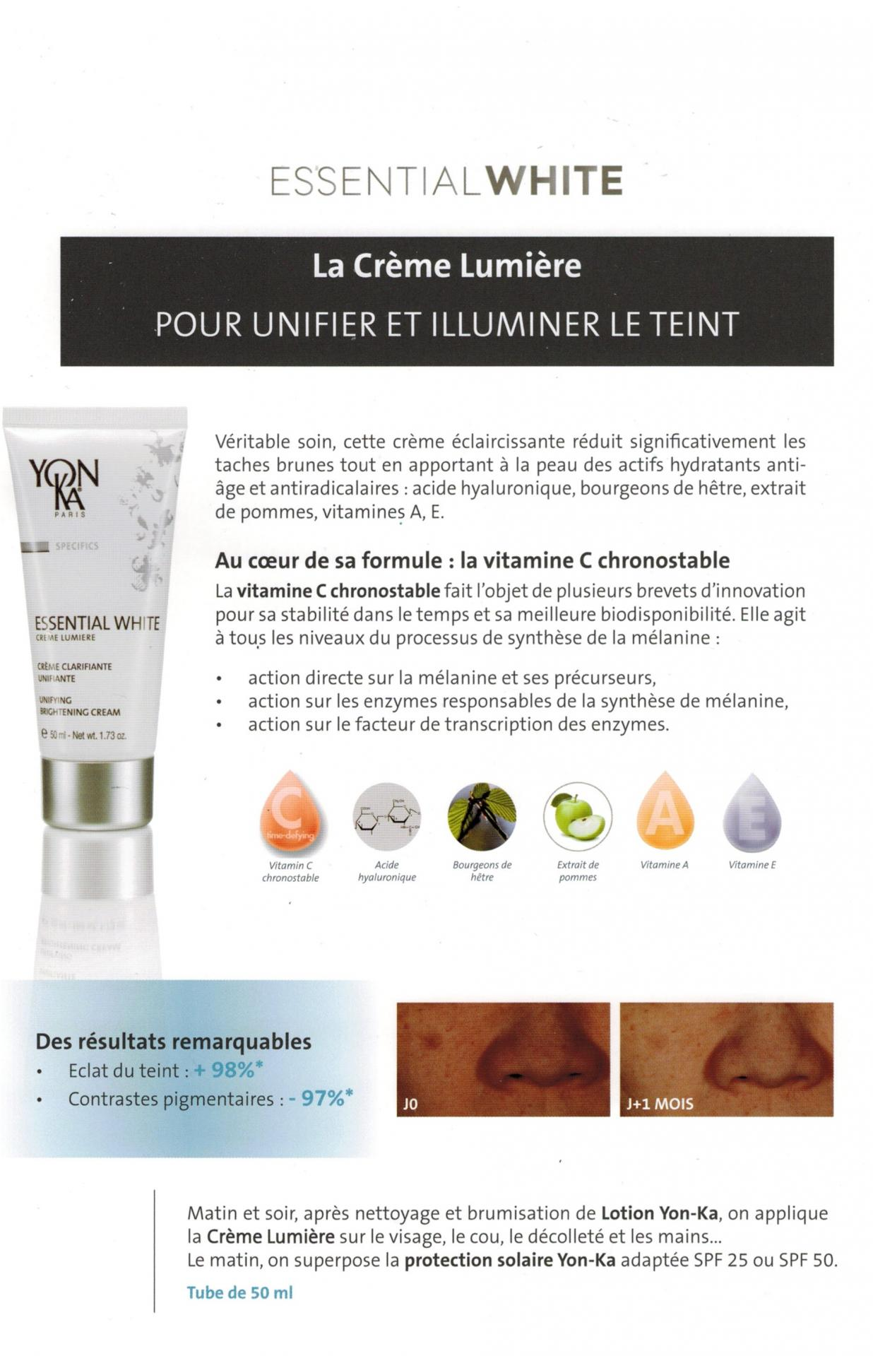 Explication creme leumiere